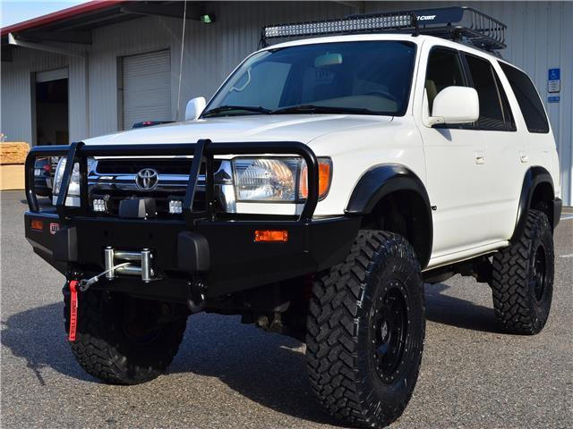 White Lifted Jeep >> JT3HN86R829070339 - 2002 TOYOTA 4RUNNER 4X4 SR5 LIFTED ...