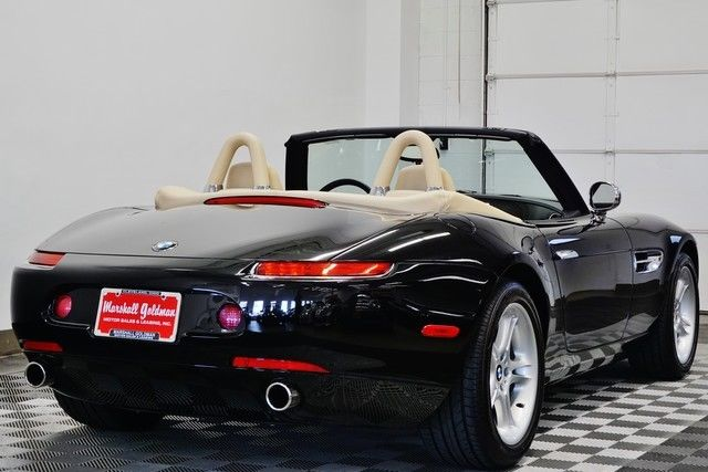 Wbaej13443ah61992 2003 Bmw Z8 In Jet Black Over Crema