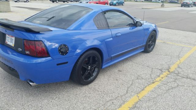 2003 Ford Mustang Mach 1 Azure Blue 1fafp42r73f415767