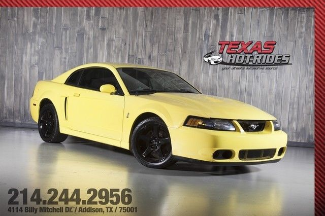 2003 ford mustang svt cobra terminator supercharged light upgrades we finance - 2003 Ford Mustang Cobra Terminator