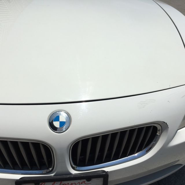 Bmw Z4 2003 For Sale: 2004 BMW Z4 WHITE W/RED INTERIOR