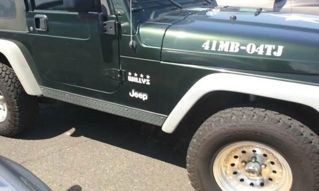 2004 jeep wrangler x specs