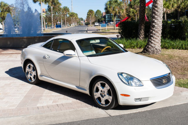 Jthfn48y440051423 2004 Lexus Sc430 Convertible 2 Door 4