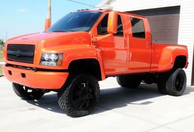 Gmc Fort Myers >> 1GBE4e3295F512739 - 2005 Chevrolet Kodiak C4500 Custom Truck Dually Hualer Bright Orange Paint