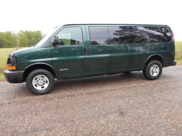 2005 chevy van 3500