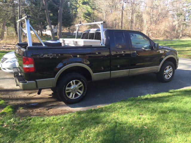 1ftpx14545na68916 2005 ford f 150 lariat extended cab. Black Bedroom Furniture Sets. Home Design Ideas