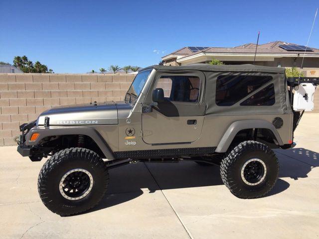 2005 Jeep Wrangler Rubicon Unlimited LJ Sahara Edition - 1J4FA64S55P357124