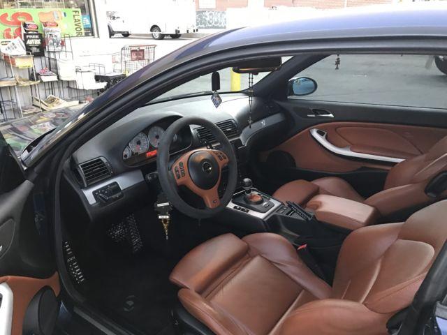 Wbsbl93436pn65256 2006 bmw e46 m3 base 2 door coupe smg - E46 m3 cinnamon interior for sale ...