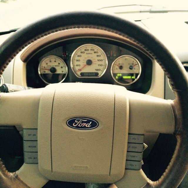 2006 f150 king ranch steering wheel
