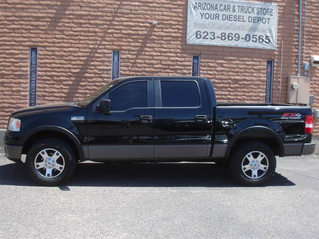 1ftpw14526kc02652 2006 ford f150 supercrew cab fx4 pickup 4d 5 1 2 ft 135319 miles black pickup v8. Black Bedroom Furniture Sets. Home Design Ideas