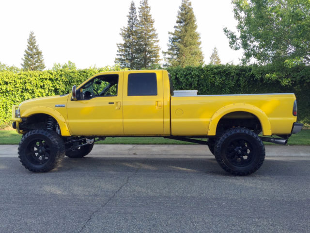 1ftww31p96ea11242   2006 ford f350 amarillo liftted