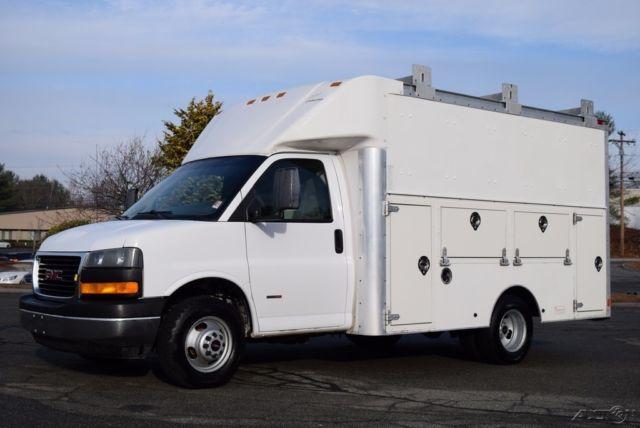 2006 Gmc Savana G3500 Enclosed Utility Van 6 6l Duramax