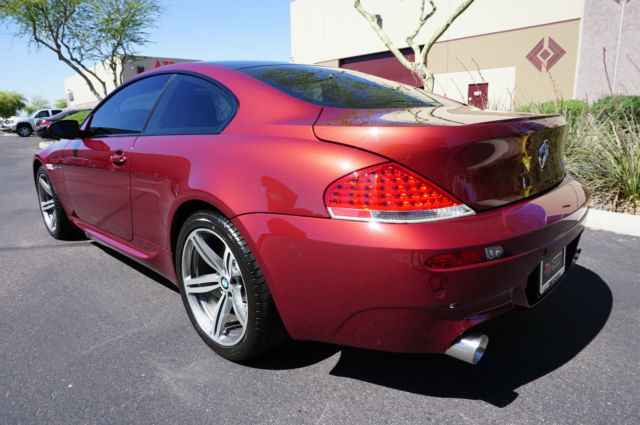 wbseh93466b797622 2006 red m6 coupe clean carfax low miles like 2004 2005 2007 2008 2009 2010 650i. Black Bedroom Furniture Sets. Home Design Ideas