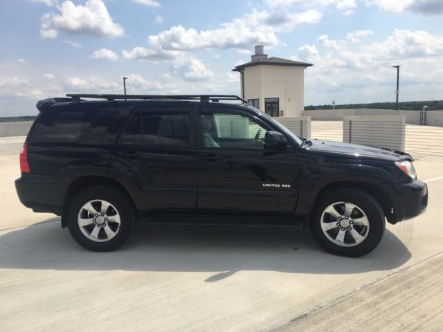 Jtebt17r368032733 2006 Toyota 4runner Limited V8 4wd Low Miles
