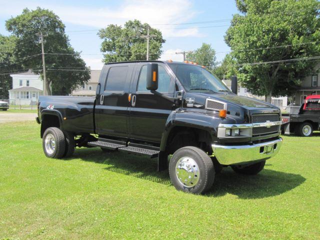 1gbe4e39x7f417350 2007 Chevrolet Kodiak C4500 4x4 W Monroe Pickup