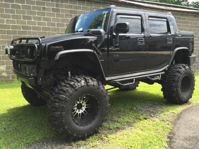 5grgn22u57h101847 2007 hummer h2 sut lifted moster tires big black. Black Bedroom Furniture Sets. Home Design Ideas