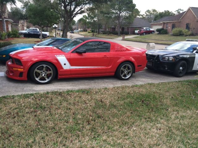 1zvft82h075316754 2007 roush stage 3 supercharged 427r mustang real deal 54 of 73. Black Bedroom Furniture Sets. Home Design Ideas
