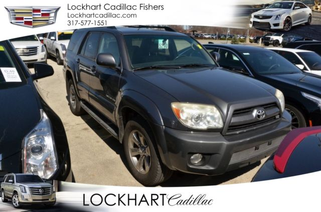 2007 toyota 4runner limited 145113 miles shadow mica 4d sport utility. Black Bedroom Furniture Sets. Home Design Ideas