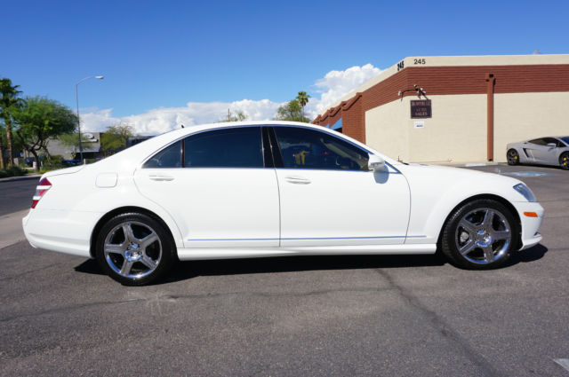 Wddng71x17a060935 2007 white s550 amg sport pkg s class for White s550 mercedes benz for sale