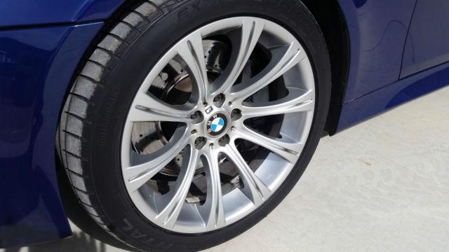 WBSNB93598CX10268 - 2008 BMW M5 E60 500 hp V10 SMG Interlagos Blue