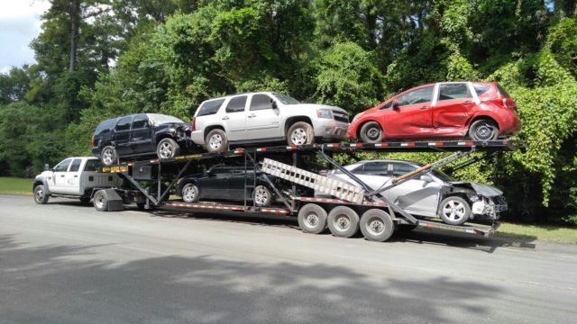 Ram 5500 For Sale >> 3D6WC78A38G237963 - 2008 Dodge Ram 5500, Kaufman mini 5 trailer, car hauler, trailer