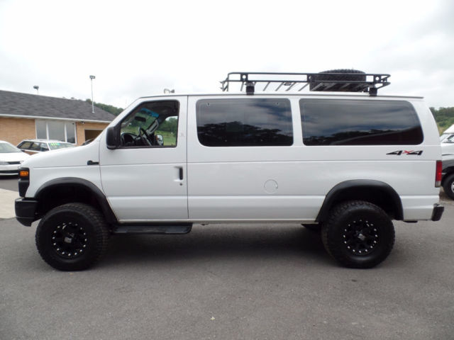 Quigley Van For Sale >> 1FBNE31P48DB10885 - 2008 Ford E-350 Powerstroke Diesel Lifted Quigley 4x4 Passenger Van 57-photos