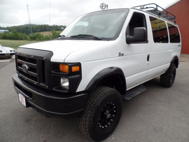 1fbne31p48db10885 2008 ford e 350 powerstroke diesel lifted quigley 4x4 passenger van 57 photos. Black Bedroom Furniture Sets. Home Design Ideas
