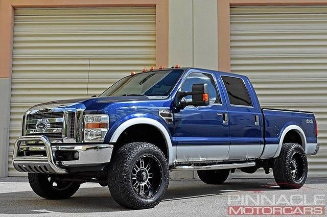 1ftsw21r58eb89579 2008 ford f250 lariat 4x4 lifted 77k miles clean carfax 20 rims f 250 f350. Black Bedroom Furniture Sets. Home Design Ideas