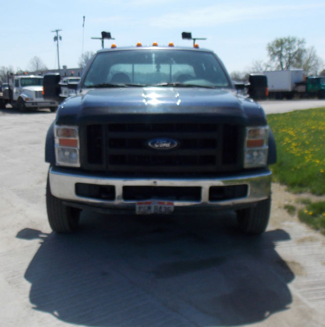 Purchase Used 2008 Crew Cab Diesel 2 Wheel Drive: 2008 FORD F550 4x4 CREW CAB KNAPHEIDE