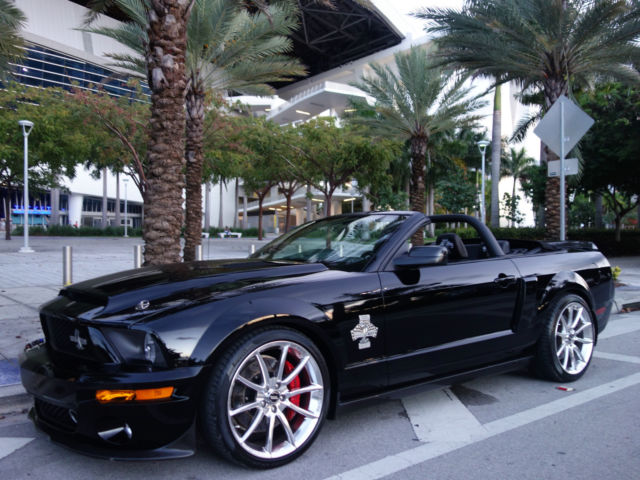 1zvht89s785137963 2008 ford mustang shelby gt500 super snake 427 nascar edition convertible. Black Bedroom Furniture Sets. Home Design Ideas
