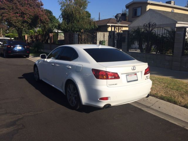 JTHBK262882060114 - 2008 Lexus IS 250, Pearl White, Clean ...
