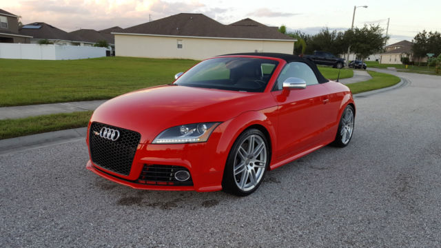 truwf38j491031367 2009 audi tt s convertible red 36k miles. Black Bedroom Furniture Sets. Home Design Ideas