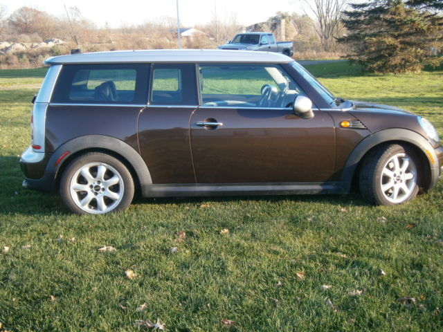 wmwml33519tx33278 2009 brown mini cooper clubman excellent. Black Bedroom Furniture Sets. Home Design Ideas