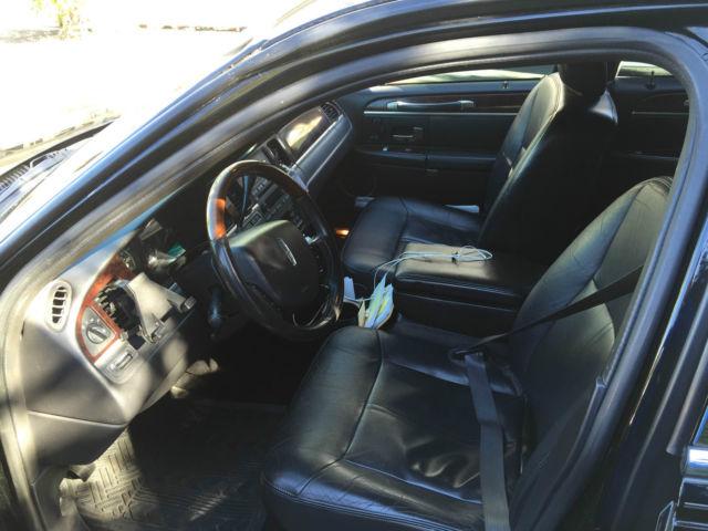 2lnhm82v99x611766 2009 lincoln town car signature limited black black. Black Bedroom Furniture Sets. Home Design Ideas