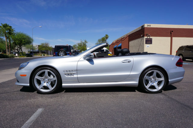 2011 Mercedes Benz Sl550 Convertible >> WDBSK71F89F148632 - 2009 Silver SL Class 550 AMG Convertible Roadster! like 2006 2007 2008 2011 2012