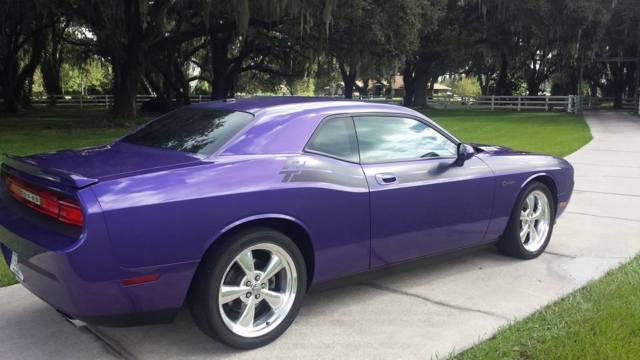 dodge challenger r t hemi 6spd leather sunroof 38 5k plum crazy purple. Cars Review. Best American Auto & Cars Review