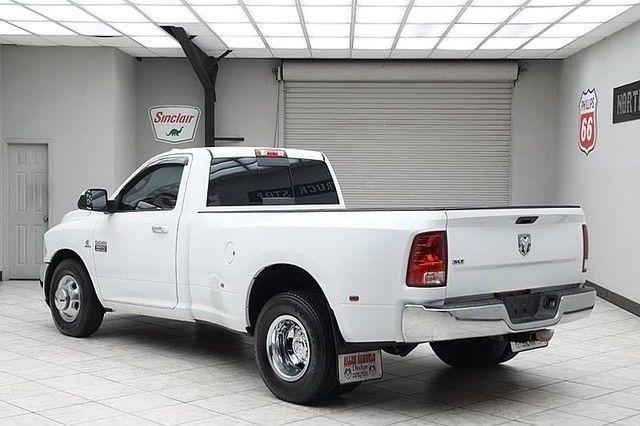 3d73m4el1ag136541 2010 dodge ram 3500 diesel 2wd dually 6 speed slt regular cab 1 texas owner - Dodge Ram 3500 Dually Single Cab
