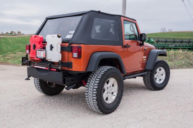 1j4aa2d10al202489 2010 jeep wrangler 4 x 4 sport lifted 2 door soft top mango tango orange. Black Bedroom Furniture Sets. Home Design Ideas
