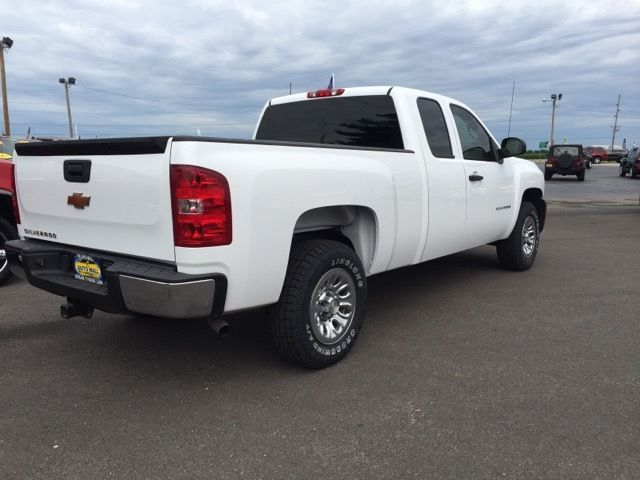 1gcrcpex4bz338934 2011 chevrolet silverado 1500 work truck ext cab 2wd 45739 miles white 4 3l v6. Black Bedroom Furniture Sets. Home Design Ideas