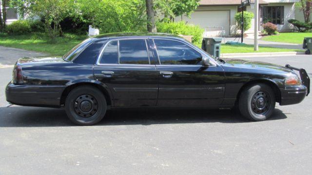 Crown Victoria Police Interceptor Custom