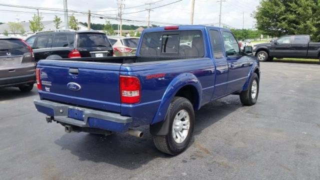 1ftlr4fe0bpb02857 2011 ford ranger super cab 116114 miles blue pickup truck 4 0l v6 automatic 5 sp. Black Bedroom Furniture Sets. Home Design Ideas