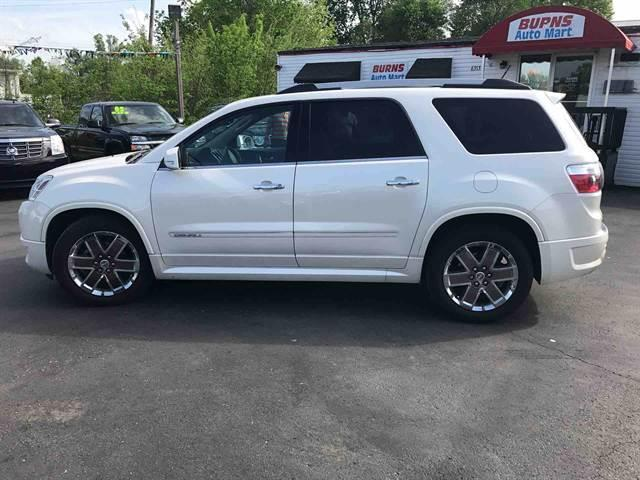 Used Gmc Acadia For Sale >> 1GKKVTED7BJ219191 - 2011 GMC Acadia Denali AWD 4dr SUV 115306 Miles WHITE SUV 3.6L V6 Automatic 6-Sp
