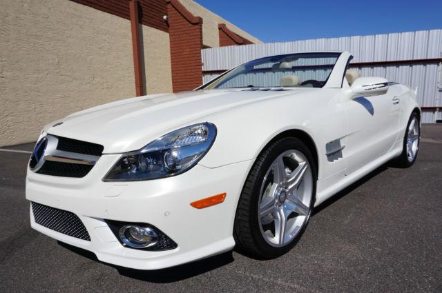 2011 Mercedes Benz Sl550 Convertible >> WDBSK7BA5BF163873 - 2011 White SL550 AMG Convertible SL Class 550 like 2007 2008 2009 2012 2013 2014