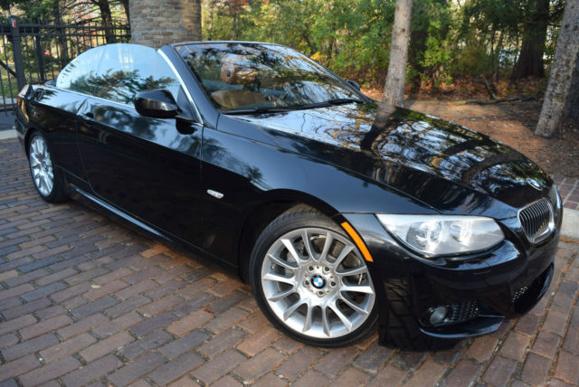 2012 bmw 335i convertible m sport package