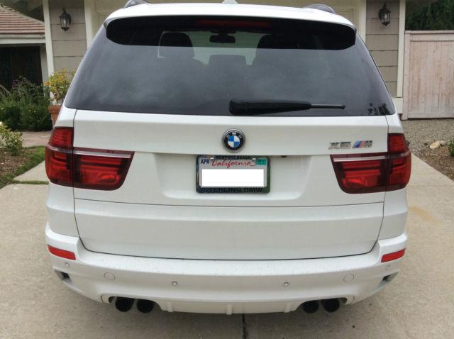 5ymgy0c54clk27877 2012 Bmw X5 M Alpine White X5m 4 4 Twin Turbo Low Miles