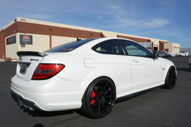 c class coupe white 2013
