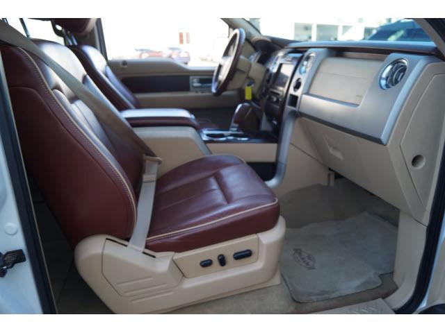 Mac Haik Ford Houston Tx >> 1FTFW1CF7CKD94362 - 2012 Ford F-150 Lariat Crew Cab Pickup - Short Bed White Automatic Flex Fuel Cap