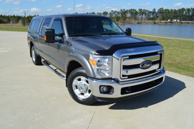 1ft7w2a6xceb37031 2012 ford f 250 crew cab xlt camper shell clean. Black Bedroom Furniture Sets. Home Design Ideas