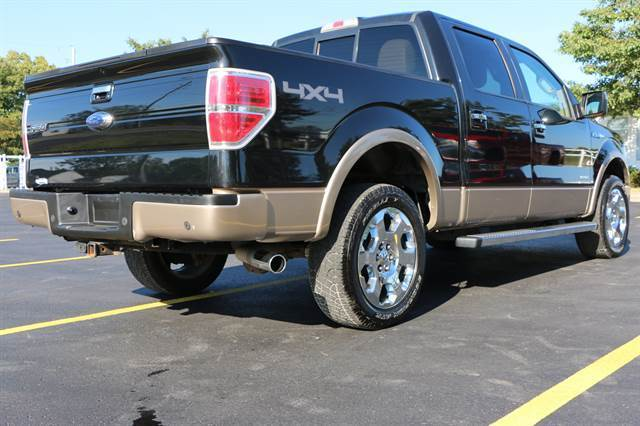 1ftfw1et5ckd03401 2012 Ford F150 4wd 108992 Miles Black Tan Supercrew Lariat 6 1 2