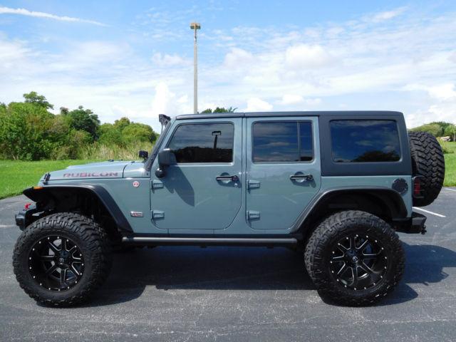 2013 jeep wrangler unlimited rubicon 10th anniversary edition for sale